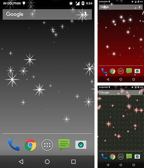 In addition to live wallpaper London by HQ Awesome Live Wallpaper for Android phones and tablets, you can also download Glitter star for free.