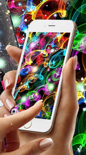 Glowing by High quality live wallpapers für Android spielen. Live Wallpaper Glowing kostenloser Download.