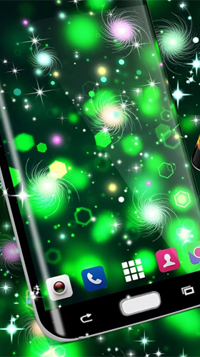 Screenshots von Glowing by High quality live wallpapers für Android-Tablet, Smartphone.