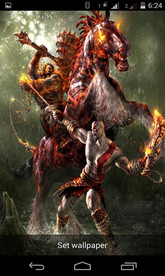 God Of War Live Wallpaper For Android God Of War Free