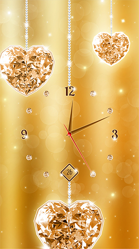 Download livewallpaper Gold and diamond clock for Android. Get full version of Android apk livewallpaper Gold and diamond clock for tablet and phone.