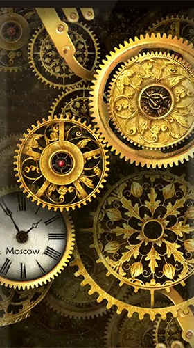 Download Gold clock by Mzemo - livewallpaper for Android. Gold clock by Mzemo apk - free download.