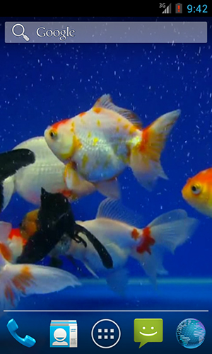 Download Gold fish - livewallpaper for Android. Gold fish apk - free download.