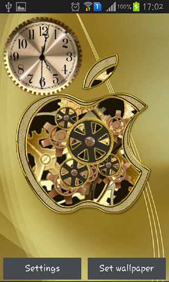 Screenshots of the Golden apple clock for Android tablet, phone.