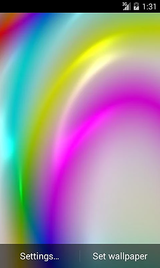 Screenshots of the Gradient color for Android tablet, phone.