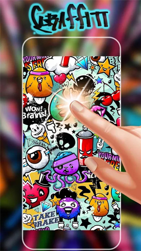 Download Graffiti wall - livewallpaper for Android. Graffiti wall apk - free download.