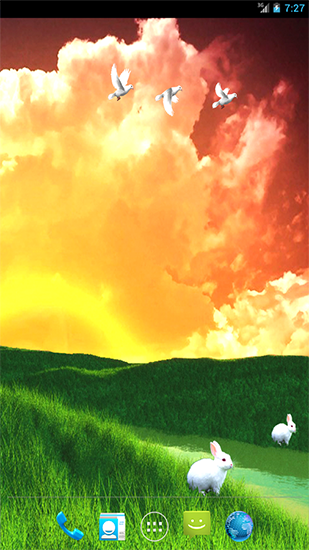 Screenshots of the Grassland for Android tablet, phone.