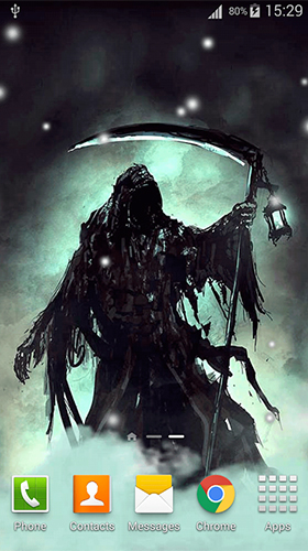 Grim reaper by Lux Live Wallpapers