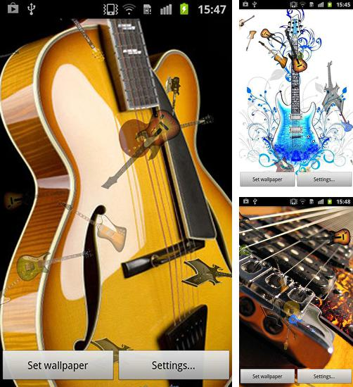 In addition to live wallpaper Butterfly by Live Wallpapers 3D for Android phones and tablets, you can also download Guitar for free.
