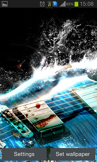 Download livewallpaper Guitar by Happy live wallpapers for Android. Get full version of Android apk livewallpaper Guitar by Happy live wallpapers for tablet and phone.