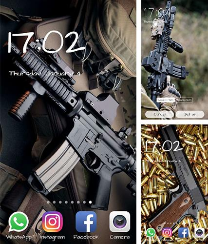 Download live wallpaper Gun for Android. Get full version of Android apk livewallpaper Gun for tablet and phone.