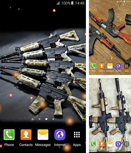 Download live wallpaper Guns for Android. Get full version of Android apk livewallpaper Guns for tablet and phone.