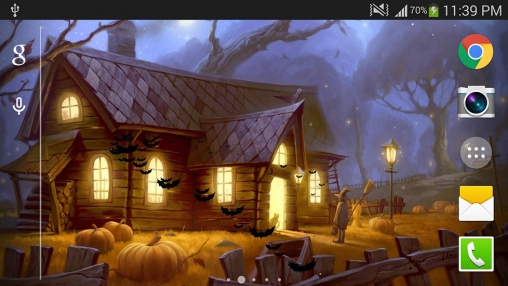 Screenshots of the Halloween 2015 for Android tablet, phone.