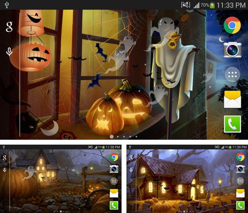In addition to live wallpaper Romantic for Android phones and tablets, you can also download Halloween 2015 for free.