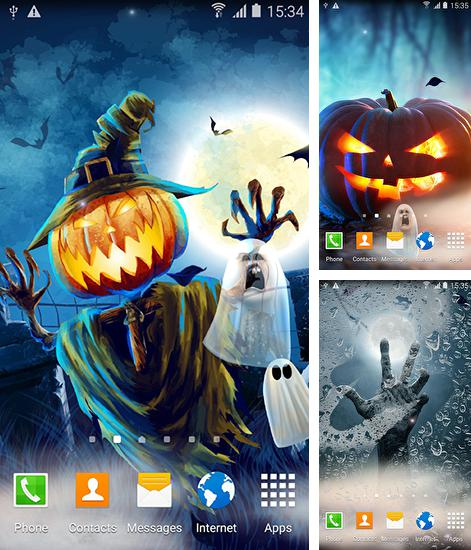 In addition to live wallpaper Anime lovers for Android phones and tablets, you can also download Halloween by Amax lwps for free.