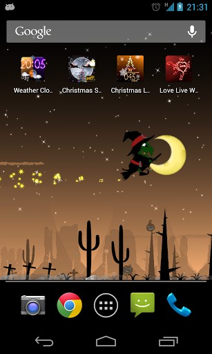 Screenshots of the Halloween by Aqreadd Studios for Android tablet, phone.