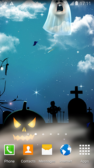 Screenshots of the Halloween by Blackbird wallpapers for Android tablet, phone.