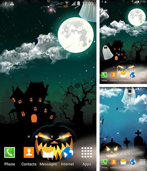 In addition to live wallpaper Zoo: Leopard for Android phones and tablets, you can also download Halloween by Blackbird wallpapers for free.