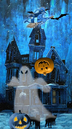 Capturas de pantalla de Halloween by FexWare Live Wallpaper HD para tabletas y teléfonos Android.