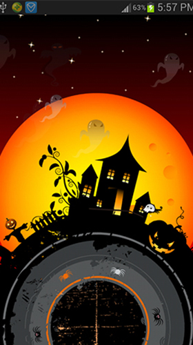 Halloween by live wallpaper HongKong