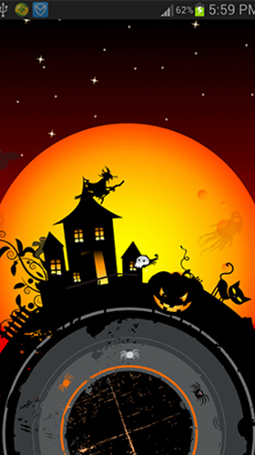 Screenshots of the Halloween by live wallpaper HongKong for Android tablet, phone.