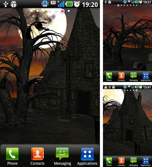 In addition to live wallpaper Paris night for Android phones and tablets, you can also download Halloween by Wizeapps ug for free.