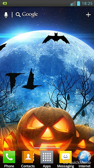 Halloween HD Live Wallpaper For Android Free Download Tablet And Phone