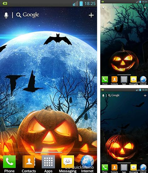 In addition to live wallpaper Jellyfishes for Android phones and tablets, you can also download Halloween HD for free.