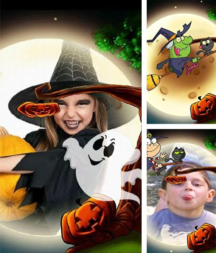 Download live wallpaper Halloween: Kids photo for Android. Get full version of Android apk livewallpaper Halloween: Kids photo for tablet and phone.