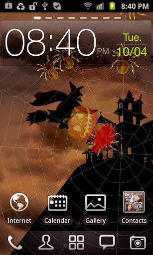 Download livewallpaper Halloween: Spiders for Android. Get full version of Android apk livewallpaper Halloween: Spiders for tablet and phone.