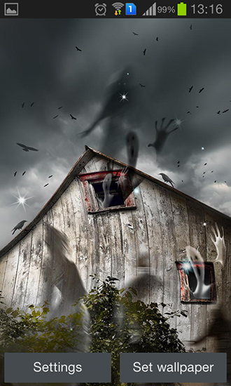 Download livewallpaper Haunted house for Android. Get full version of Android apk livewallpaper Haunted house for tablet and phone.