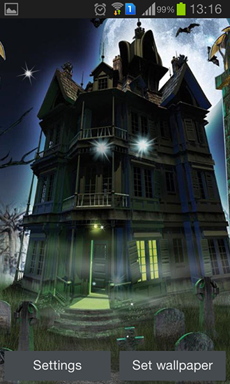 Download Haunted house - livewallpaper for Android. Haunted house apk - free download.