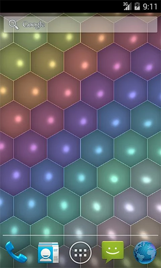 Hex Cells Live Wallpaper For Android Free Download