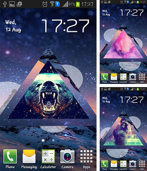 In addition to live wallpaper Halloween by live wallpaper HongKong for Android phones and tablets, you can also download Hipster for free.