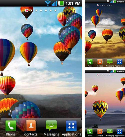 In addition to Hot air balloon live wallpapers for Android, you can download other free Android live wallpapers for Cube Talk7xs.