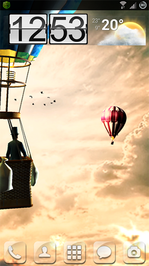 Hot air balloon 3D