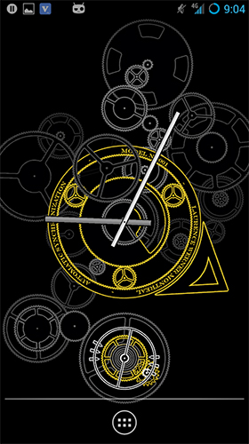 Screenshots von Hypno clock by Giraffe Playground für Android-Tablet, Smartphone.