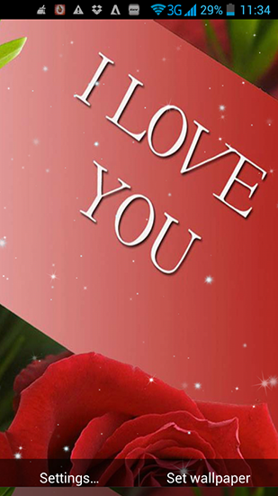 Download I love you by Live Wallpapers Ultra - livewallpaper for Android. I love you by Live Wallpapers Ultra apk - free download.