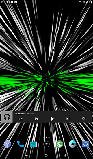 Screenshots of the Infinite rays for Android tablet, phone.