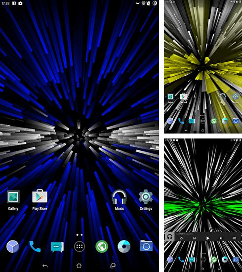 In addition to Infinite rays live wallpapers for Android, you can download other free Android live wallpapers for Cubot S350.