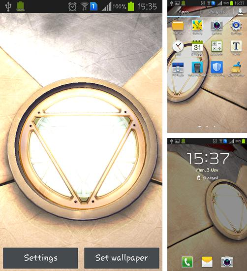 Kostenloses Android-Live Wallpaper Iron Man 3. Vollversion der Android-apk-App Iron man 3 für Tablets und Telefone.