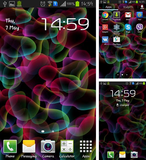 In addition to live wallpaper Bunny for Android phones and tablets, you can also download Jelly for free.