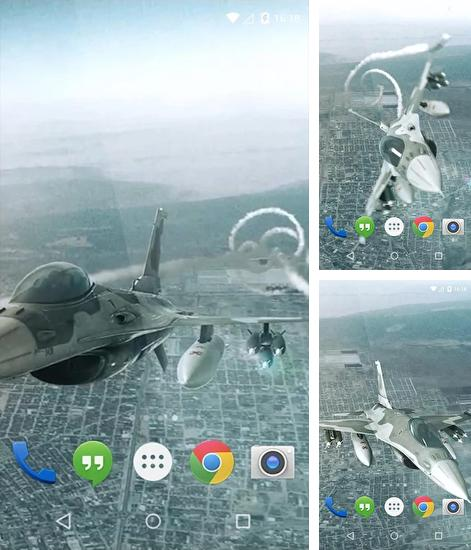 Download live wallpaper Jet Flight for Android. Get full version of Android apk livewallpaper Jet Flight for tablet and phone.
