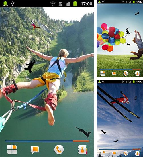 Download live wallpaper Jump for Android. Get full version of Android apk livewallpaper Jump for tablet and phone.