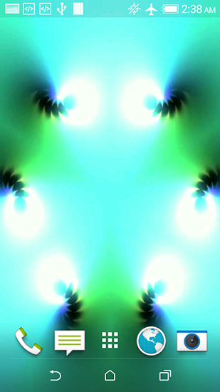 Screenshots of the Kaleidoscope HD for Android tablet, phone.