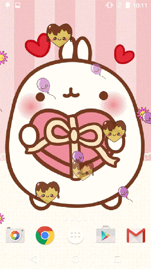 Kostenloses Android-Live Wallpaper Kawaii. Vollversion der Android-apk-App Kawaii für Tablets und Telefone.