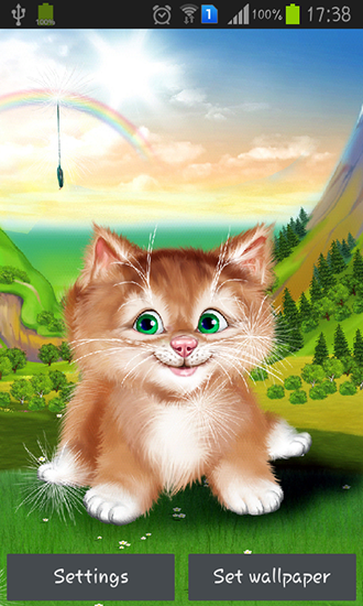 Download livewallpaper Kitten for Android. Get full version of Android apk livewallpaper Kitten for tablet and phone.