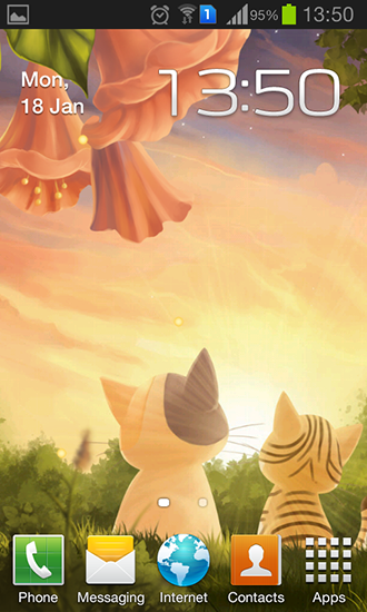 Download livewallpaper Kitten: Sunset for Android. Get full version of Android apk livewallpaper Kitten: Sunset for tablet and phone.