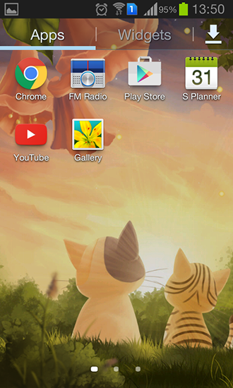 Download Kitten: Sunset - livewallpaper for Android. Kitten: Sunset apk - free download.