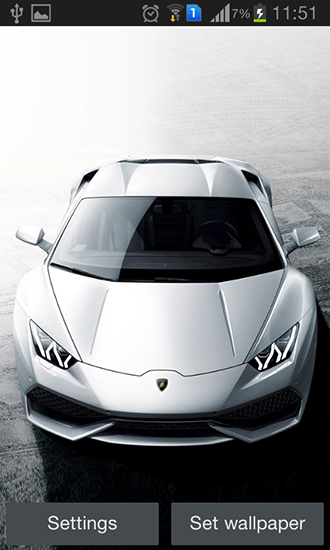 Lamborghini live wallpaper for Android. Lamborghini free download for tablet and phone.